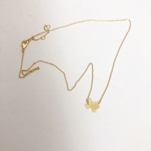 Dainty Gold Texas Necklace